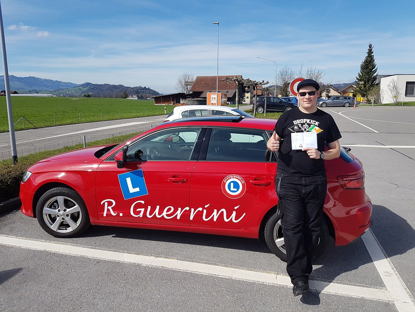 Motorrad Grundkurs, Verkehrskunde & Prüfung in Jona - Fahrschule Driving Point
