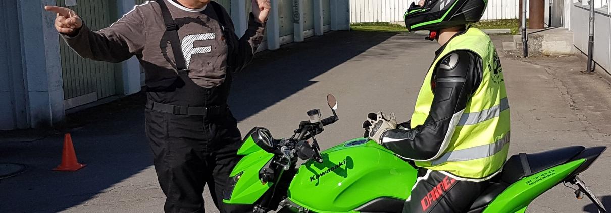 Motorradführerschein in Eschenbach mit der Fahrschule Driving Point